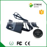 LIR2450 battery Charger for Li ion button cell/coin battery made in China