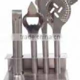 Stainless Steel Bar Tool set : 5 Pcs set