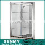 2014 frameless frameless shower door lock with tempered glass panel