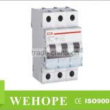 ZYC11-63 Miniature Circuit Breaker with high short-circuit capacity MCB,hydraulic magnetic circuit breaker