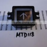 elevators parts up button mtd-118