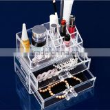 acrylic cosmetic organizer acrylic organizer wholesale acrylic makeup organizer with drawers