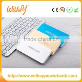 High Power Capacity 10000mAh Frosted Metal Case Portable External Power Bank Battery Charger