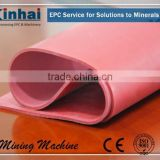 Wear-Resistant Rubber Sheets For Mining Machine , Red Natural Rubber Sheet