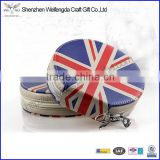 UK flag design cd bag case zip around wholesale supply