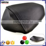 BJ-SC02-Z800/13 Black Leather Rear Passenger Seat Cover Motorcycle Kawasaki Z800