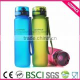 Plastic Water Bottle Sport New Leak Tight Fruit Juice Sport Portable Travel Bottle Water Cup 1000ml/24oz