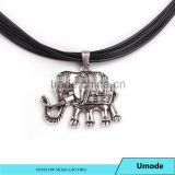 Silver Indian Elephant Necklace - Adventure Jewellery -Animal Necklace - Elephant Jewelry
