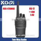 Latest Black Hand held radio KQ-12 Wireless tour guide