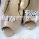 Bridal wedding Clips Rhinestone Shoe jewelry wedding Crystal Shoe accessories