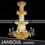 antique fancy indian restaurant decoration classic light fixtures crystal chandelier large empire pendant light