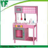 Top quality new style kids play wooden kitchen dinner set                                                                         Quality Choice