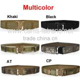 Manufacturer Multicolor field gear tactical web pistol paintabll airsoft military US army marine BDU duty web belt CL11-0014