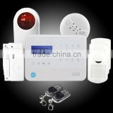 Hotest product for home security,smart wireless gsm alarm system with doorbell ring and Application