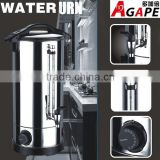 Hight quality electric water urn stainless steel water heater tea urn with metal water tap 6~35L                                                                         Quality Choice