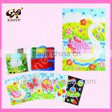 Foam Art Craft Puzzles Game DIY 3D Diamond Pasted Cartoon Character Crystal Mosaic Stickers Children Educational Toys