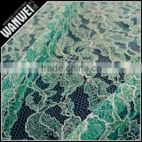 7 discount May new design high quality beautiful embroidered net lace with rhinestone for making wedding dress or cloth 3092