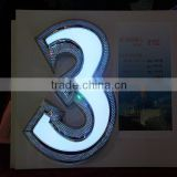Led House Numbers Outdoor 3d Acrylic Frontlit Logo sign