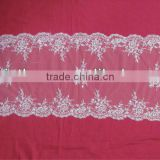 Guangzhou Soft White Wedding Runner With Beads Manufacture