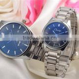 2016 china supplier wholesale watches cheap, stainless steel bracelet hot sale couple wristwatches