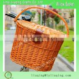hot sale product wonderful wicker bike basket