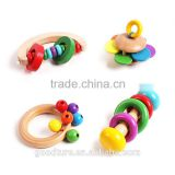 Wooden Baby Toys Baby Rattle Baby Shaking Rattle                                                                         Quality Choice                                                                     Supplier's Choice