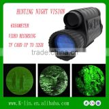 6x50Meter Telescopic sights Infrared Laser Sight ,Monocular Thermal Weapon Night Vision Sight,