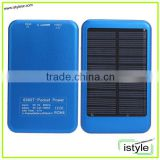5000mah solar battery pack mini sun power bank system rechargeable
