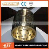 Excavator bucket stainless steel control arm bushing