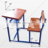 School Bench & Desk
