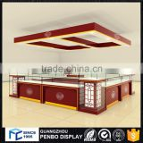 Good jewellery showroom ceiling design, jewellery showroom furniture design for display