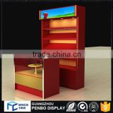 Luxury high standard wine bar display cabinet for retail product