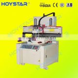 sheet/webbing screen printing machine with vacuum table