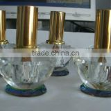 3ml Crystal Cosmetic perfume Bottle With Gold Cap                                                                         Quality Choice