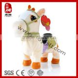 Electric toy plush horse stuffed animal musical horse toys                                                                         Quality Choice