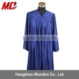 Choir robe - adult church robe shiny navy blue