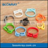 Electric cable hanger or self adhesive cable clip ecg cable with clip
