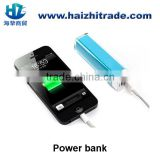 Mini usb charger power pack 1500mah 2000mah gift lipstick power bank portable mobile charger