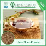 Summer new instant chinese traditional Plum , hawthorn, osmanthus, licorice extract / sour plums powder for drinking