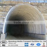SS400 Corrugated Pipe-arches for Highway Bridge Culvert use