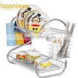 basni double stainless steel dish rack kitchen shelving rack dish rack dish rack dish rack Drain drip dish rack