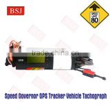 For Russia Market Digital Tachograph GPS Vehicle Tracking Device Speed Governor 80KPH