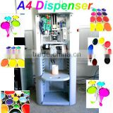 A2 0.077ml accuracy automatic colorant dispenser machine/A4 600ML colorant sequential dispenser