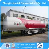 EXPORT! high quality 50000 liters fuel transport tanker semi trailer,fuel tank semi trailer,oil tank trailer