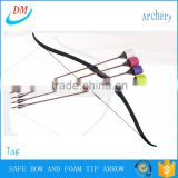 archery larp game tag take-down recurve bow with foam tipped arrow                                                                                         Most Popular