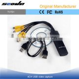 4 Channels usb video capture device