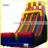 Exciting Inflatable Bounce House with inflatable Water Slide