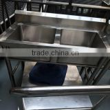 wholesale good quality Large Capacity Commercial Kitchenware Polishing Heavy Duty Stainless Steel Cooking Pot