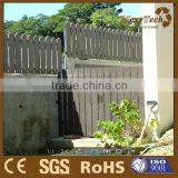 Wpc waterproof house garden wood plastic composite fence