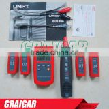 Multi-Function Cable Finder set UNI-T UT681A portable network tester 2.0* LCD display 128*64 Resolution RJ-45 Test port